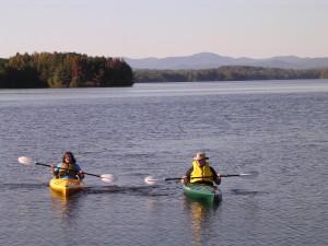 Kayaking Lake Robinson Upstate South Carolina