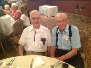 Photo of Wes and Don at the luncheon